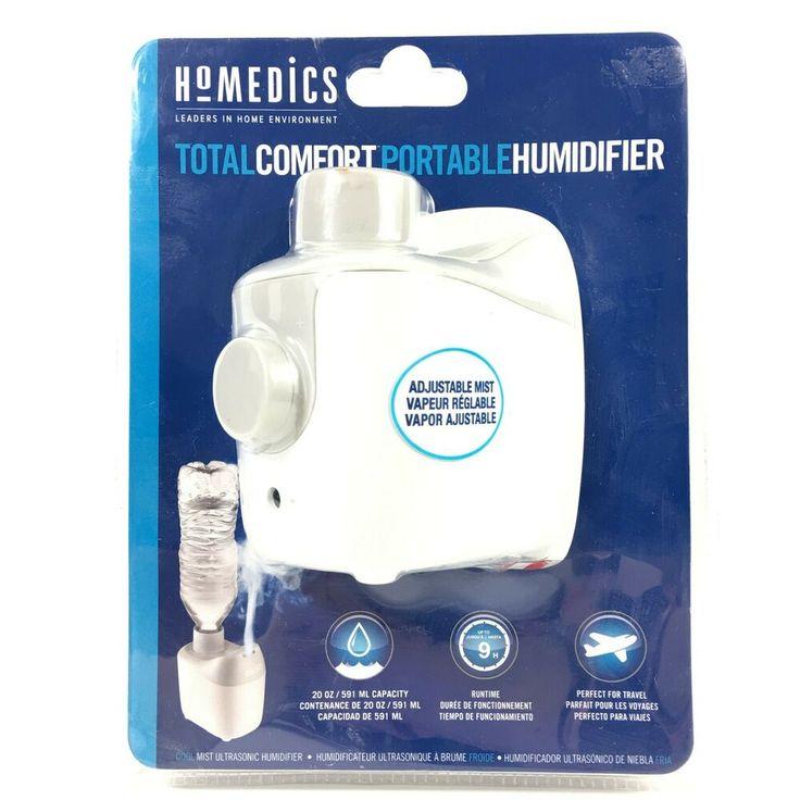 Homedics Total Comfort Portable Humidifier Adjustable Cool