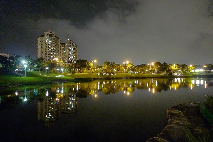 Nightfall In Desa ParkCity