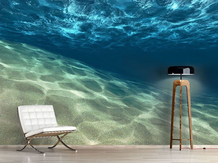 Foto #Tapete Unter dem Wasser