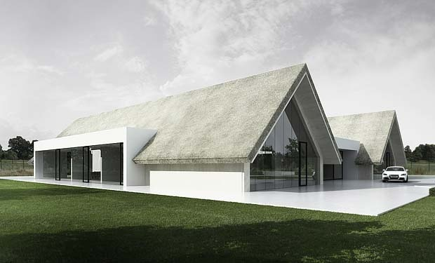 Love the contrast - Tamizo Architects.