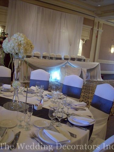 7 best images about weeding head table on pinterest cake for Backdrop decoration for church