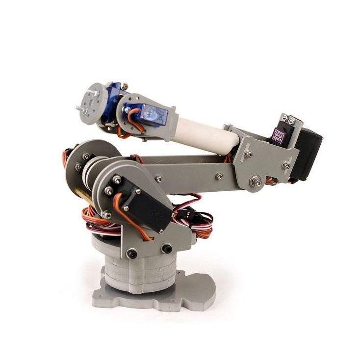 Best ideas about arduino robot arm on pinterest