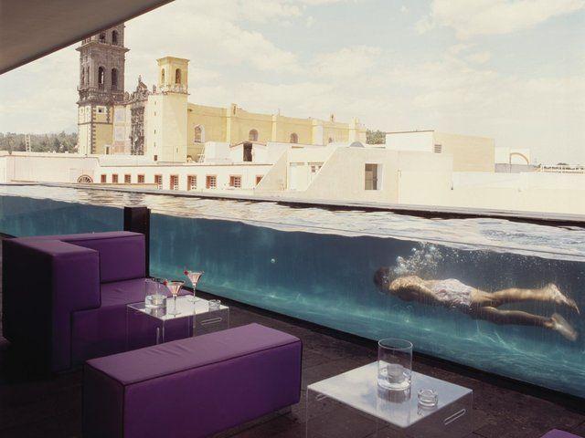 La Purificadora Hotel - MexicoLap Pools, Purificadora Hotels, Hotels Bar, Swimming Pools, Boutiques Hotels, La Purificadora, Puebla Mexico, Places, Design