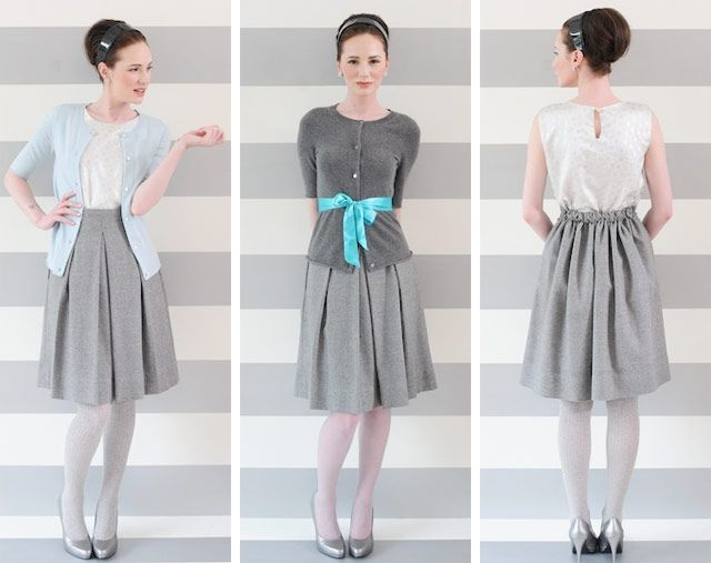refashioned clothes photos | Refashion: l'abitino bon-ton