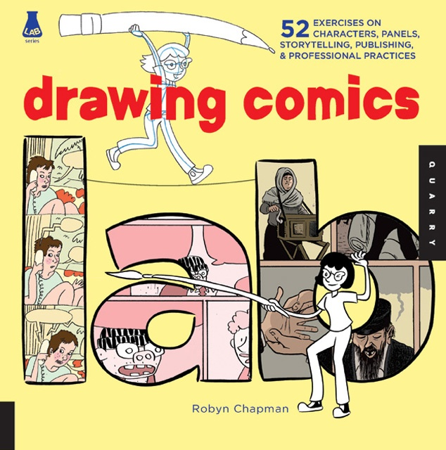 Robyn Chapman's Drawing Comics Lab is a distillation of the Abel/Madden textbooks, something she cops to right upfront...The book is as much a distillation of Brunetti and Barry as it is Abel & Madden, but it's a much breezier and simpler read than those other texts...The chapters on materials are a perfect crash course for an aspiring artist....Overall, Drawing Comics Lab creates a unique balance between theory, practice and readability.