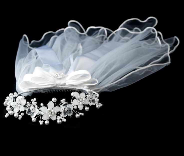 First Communion Veils And Crowns Bing Images First