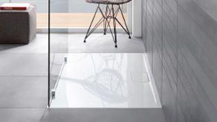 Villeroy & Boch Architectura Metalrim kunststof douchebak acryl rechthoekig wit 90x75x4.8cm UDA9075ARA248V01. €236,- incl. BTW bij warmteservice.nl