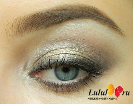 лёгкий макияж глаз кремовые тени пошаговый мастер-класс