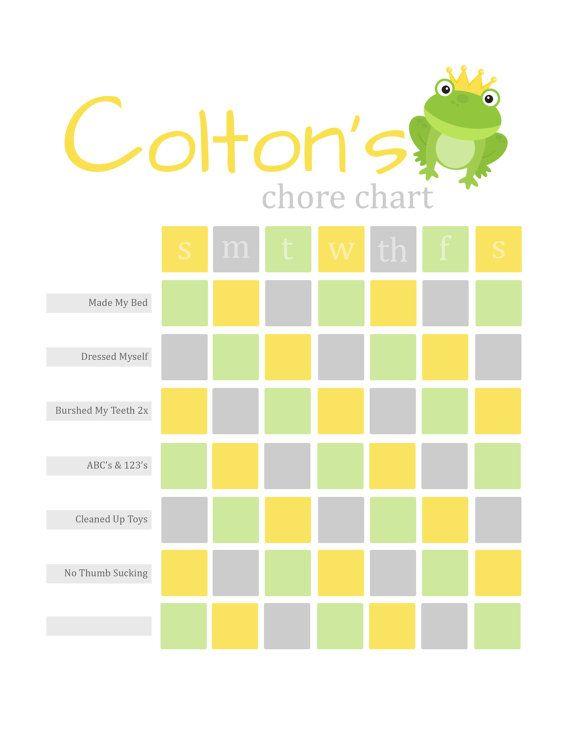The 25+ best Reward chart template ideas on Pinterest | Chore ...