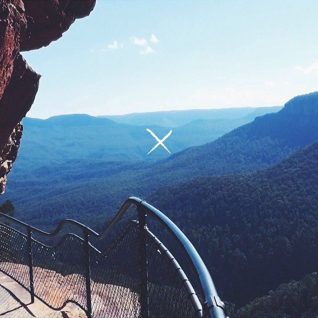 Blue Mountains // Wentworth Falls http://www.foundclothing.co