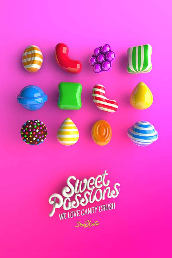 We love Candy Crush on Digital Art Served