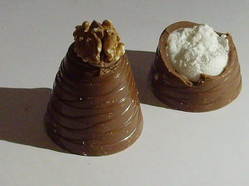 Walnut Whip - picked the nut off and ate the rest
