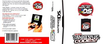 Action Replay DS (DS) - The Cover Project