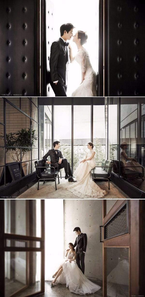 Classy and Elegant Indoor Studio Pre-wedding Photoshoot In Korea That Ticks All The Right Boxes - Timetwo Studio, Modern, Indoor