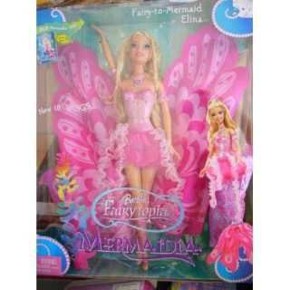 barbie fairytopia dolls | Barbie Fairytopia Mermaidia Elina Doll Rc12 (Barbies) a VEF 850 en ...