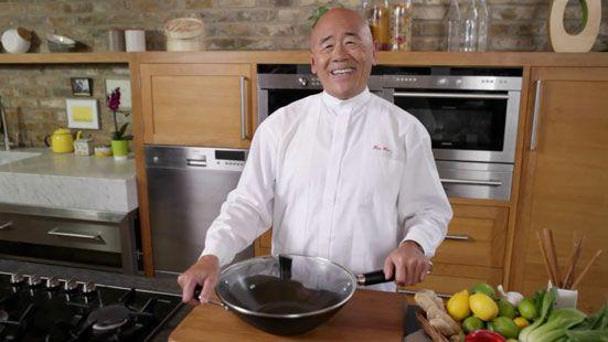 ken hom wok cooking
