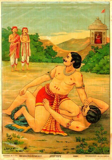 Bhim kills Jarasandh Mahabharat