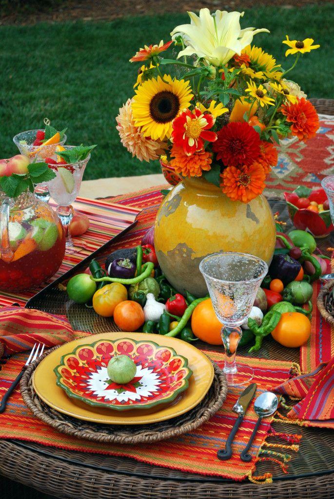 South Of The Border Flavor Cinco De Mayo Table