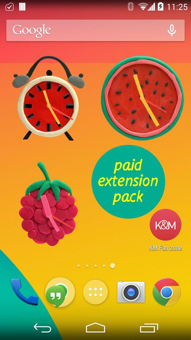 KM Plasticine widgets: Paid extension pack.