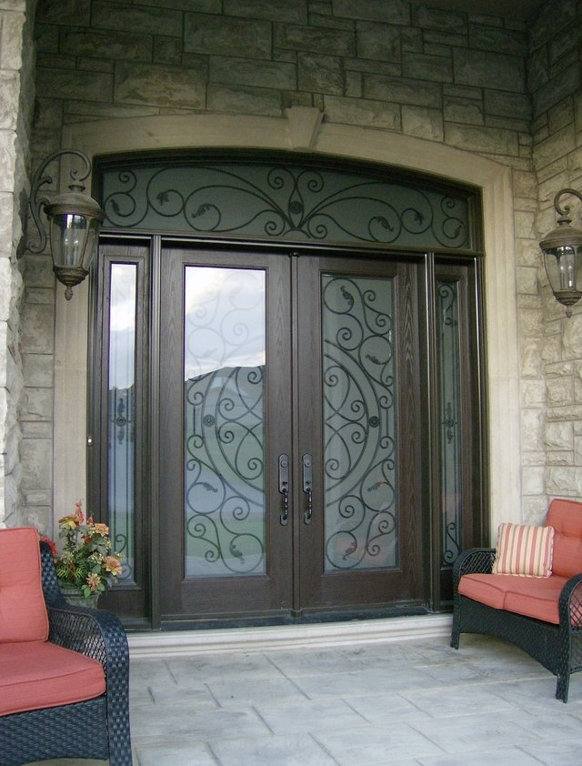 17 Best Images About Wrought Iron Doors On Pinterest