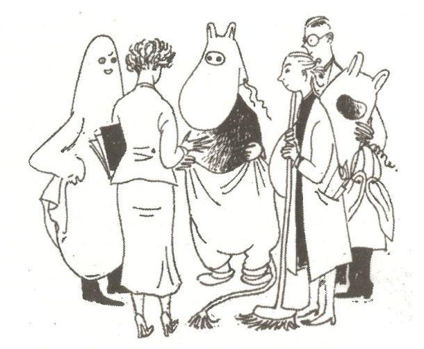 Tove Jansson 1949 theatre production