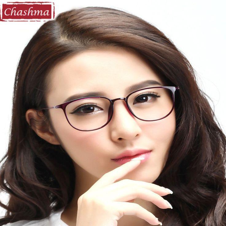 Chashma 2017 New Fashion Wave ULTEM TR90 Optical Frames Eye Glasses Frames Eyeglasses Women