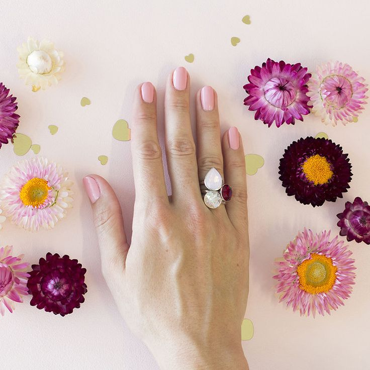 Hamptons MKD Summer 2018 Stacker Ring Set #bling #MarisaKateDesigns #Swarovski #crystal #jewel #sterlingsilver