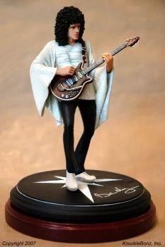 brian may queen statue figur knucklebonz rock iconz