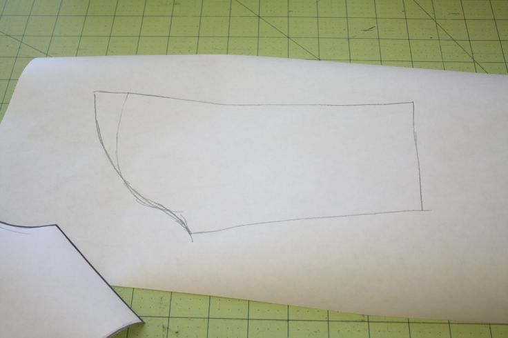 the katy dress tutorial - including details about drafting the sleeve pattern shape