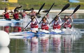 Canoe / Kayak Sprint - Women K4 500m - Canada