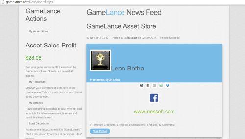 GameLance Asset Sales