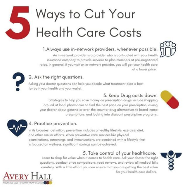 It Is No Secret Health Care Can Be Expensive Here Are Five Tips To Help You Save Money And Reduce Your Hea