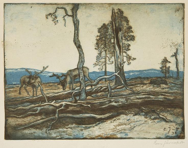 Reindeers - Poroja, Eero Järnefelt