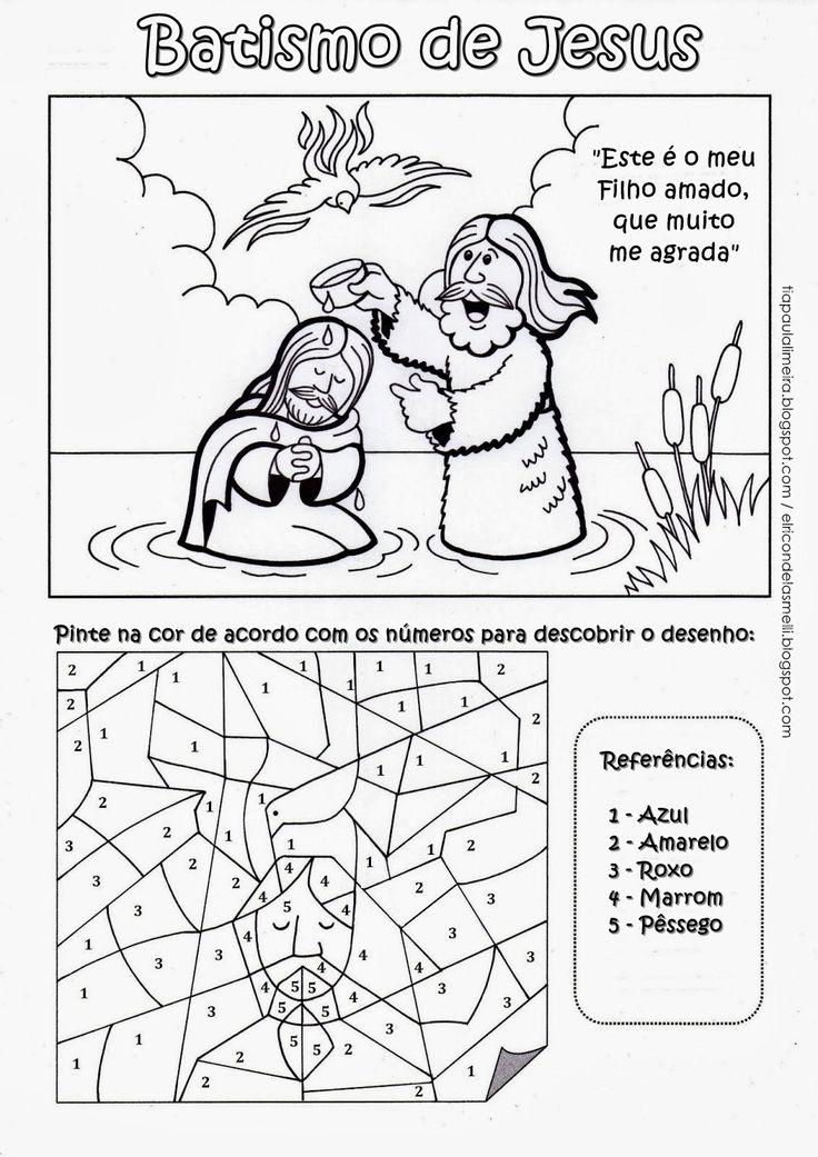 Tia Paula: O batismo de Jesus - ATUALIZADO