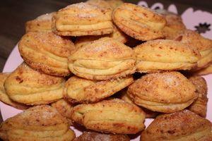 Фото к рецепту: Печенье  Поцелуйчики