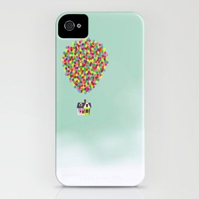 I LOVE LOVE LOVE this website- I can't choose just one case, I want one for everyday of the week!!!   Up iPhone Case by Derek Temple - $35.00