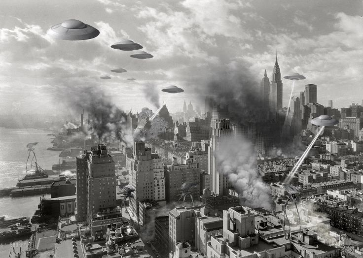 Alien invasion - NY 1930's | Science Fiction