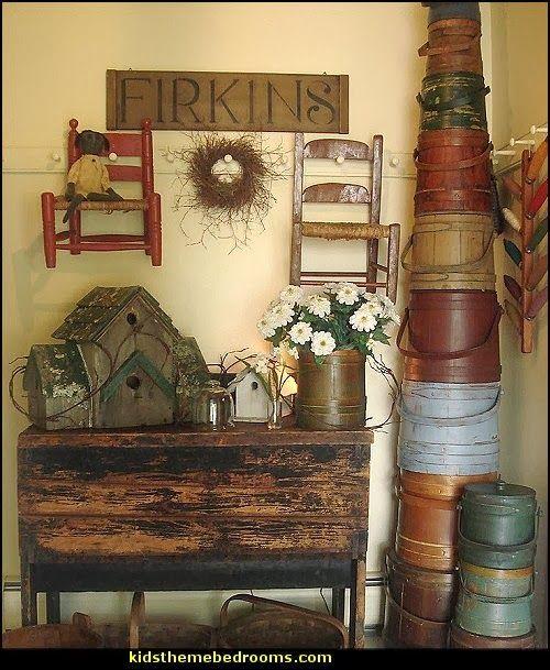 Colonial Primitive Decorating Ideas: 17 Best Ideas About Rustic Americana Decor On Pinterest