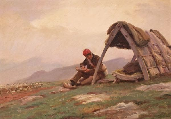 Dionís Baixeras i Verdaguer (Ripolles, Catalunya, 1892-1943) - Cabana de Pastor.