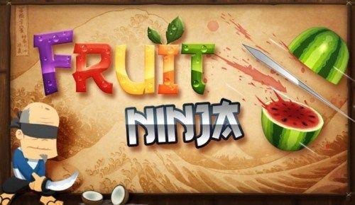 Game Penguras Baterai Smartphone Android - Fruit Ninja