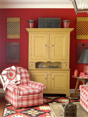 17 best images about red themed living rooms on pinterest for Red and yellow living room ideas