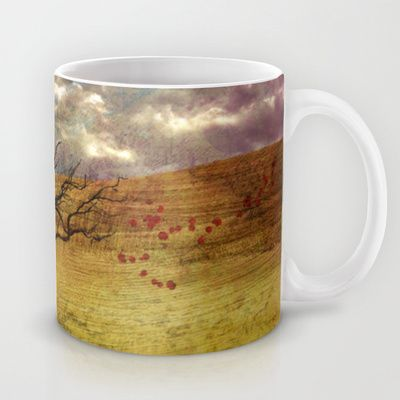 Don't go Mug by Oscar Tello Muñoz - $15.00