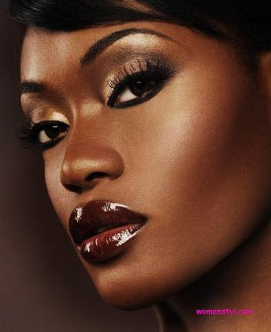 black women lipstick color womenstyl beauty makeup