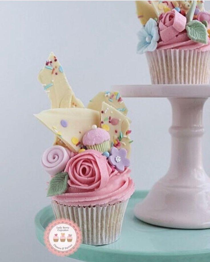 Lavishly Loaded Cupcake