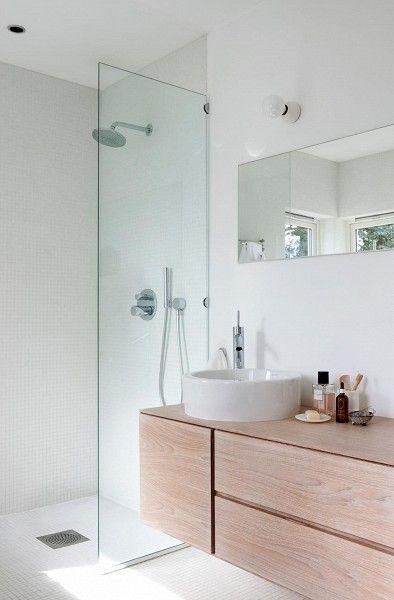 25 beste idee n over scandinavische badkamer op pinterest wc ontwerp - Spiegel wc ontwerp ...