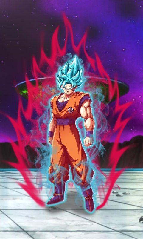 Here S A Ssbkk Goku Phone Background Dragonballfighterz Dragon Ball Super Anime Dragon Ball Super Dragon Ball Super Artwork