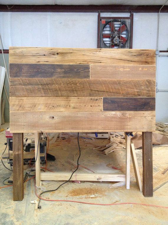 Reclaimed Headboard  Browns by RevivalSupplyCo on Etsy, $350.00 or a Kevin woodworking project?