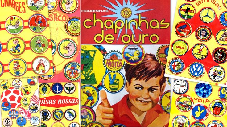 Ana Caldatto : Album de figurinhas Chapinhas de Ouro coleção de 1977