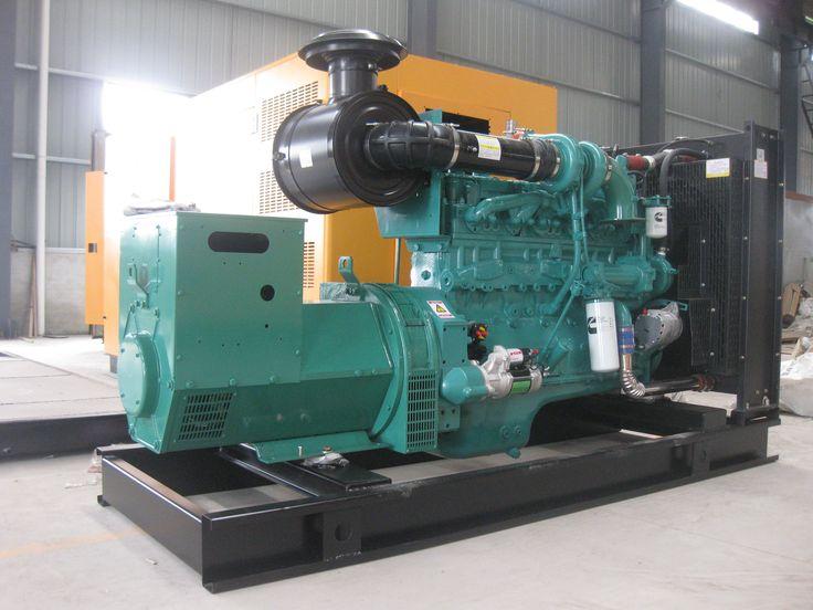 Cummins diesel generator open type