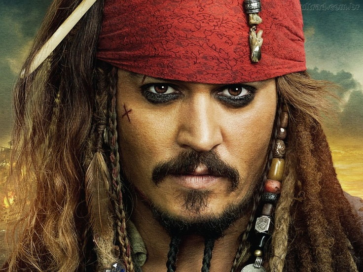 Piratas do Caribe 4 - Jack Sparrow
